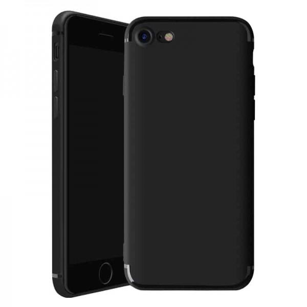 Husa Spate Upzz Ultra Slim Pro iPhone Se 2 ( 2020 ) , Black imagine itelmobile.ro 2021
