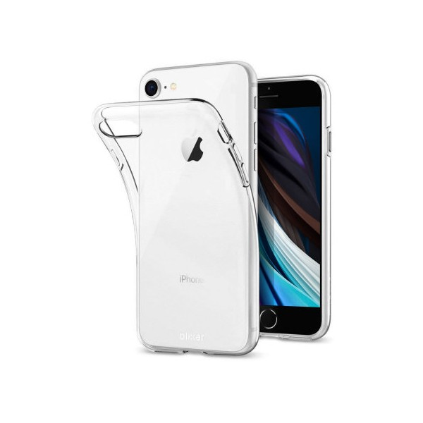Husa Spate Slim Upzz iPhone Se 2 ( 2020 ) ,transparenta 0,5mm Grosime imagine itelmobile.ro 2021