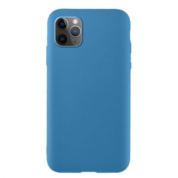 Husa Silicone Soft Upzz Liquid iPhone 11 Pro Albastru imagine itelmobile.ro 2021
