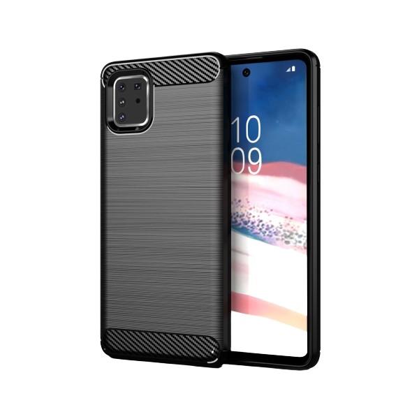 Husa Spate Upzz Carbon Pro Samsung Galaxy Note 10 Lite Negru imagine itelmobile.ro 2021