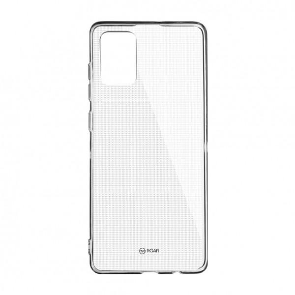 Husa Silicon Anti Shock Roar Jelly Samsung Galaxy A51 Transparenta imagine itelmobile.ro 2021