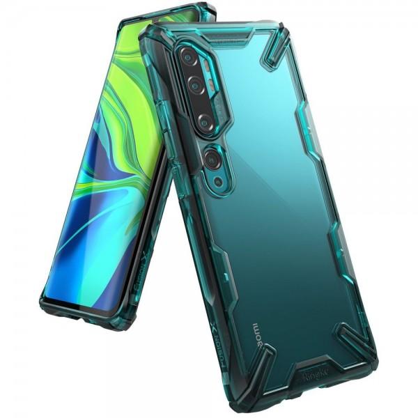 Ringke Fushion X Pentru Xiaomi Mi Note 10 / Mi Note 10 Pro, Verde imagine itelmobile.ro 2021