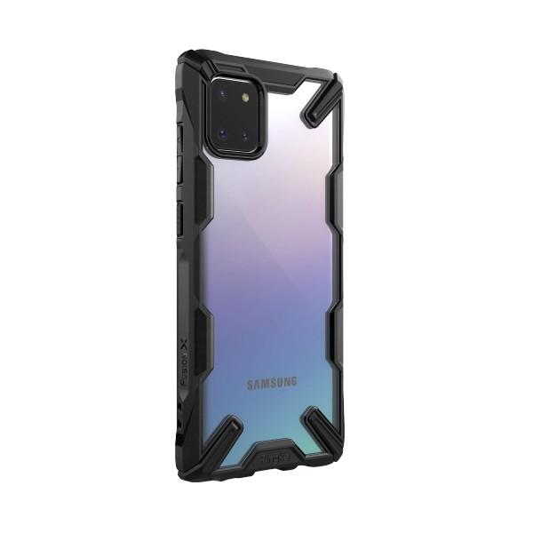 Husa Premium Ringke Fusion X Samsung Note 10 Lite ,black imagine itelmobile.ro 2021