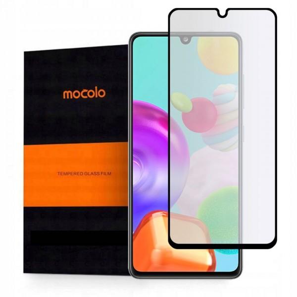 Folie Sticla Securizata Mocolo Samsung Galaxy A41 , Full Cover imagine itelmobile.ro 2021