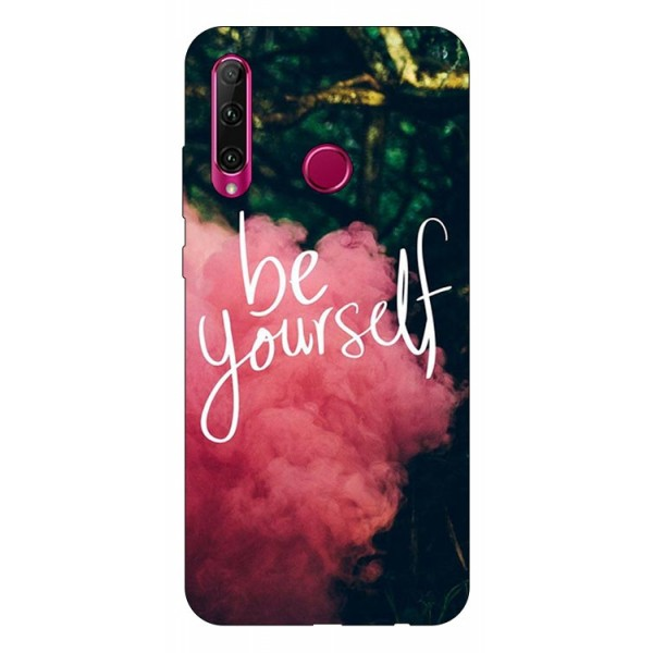 Husa Silicon Soft Upzz Print Huawei P40 Lite E Model Be Yourself imagine itelmobile.ro 2021