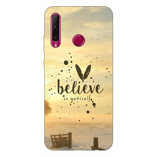 Husa Silicon Soft Upzz Print Huawei P40 Lite E Model Believe imagine itelmobile.ro 2021