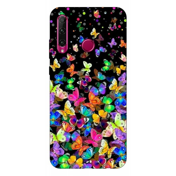 Husa Silicon Soft Upzz Print Huawei P40 Lite E Model Colorature imagine itelmobile.ro 2021