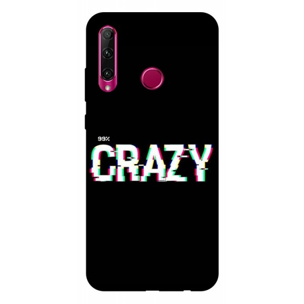 Husa Silicon Soft Upzz Print Huawei P40 Lite E Model Crazy imagine itelmobile.ro 2021