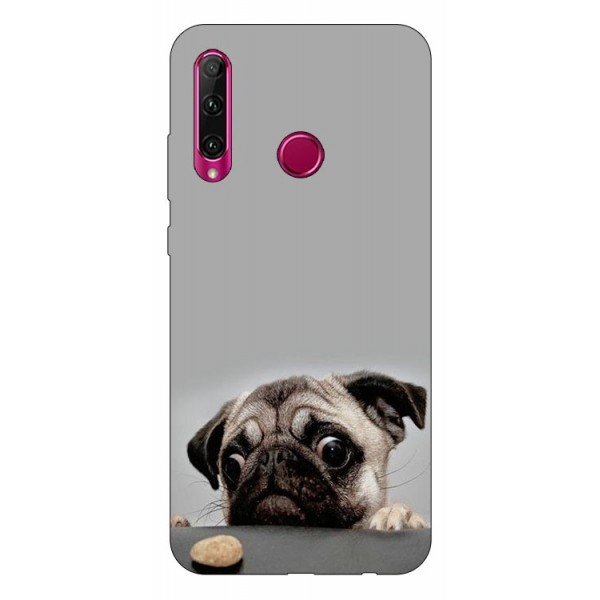Husa Silicon Soft Upzz Print Huawei P40 Lite E Model Dog imagine itelmobile.ro 2021