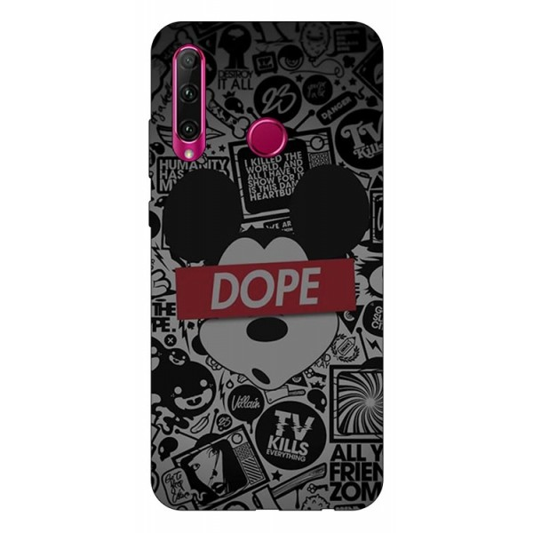 Husa Silicon Soft Upzz Print Huawei P40 Lite E Model Dope imagine itelmobile.ro 2021