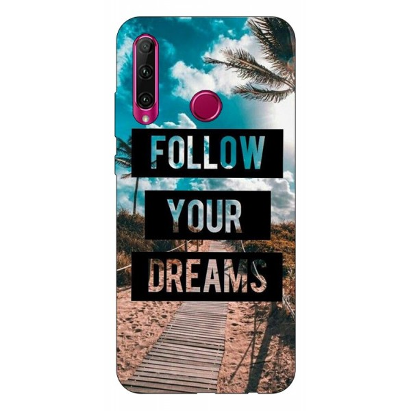Husa Silicon Soft Upzz Print Huawei P40 Lite E Model Dreams imagine itelmobile.ro 2021