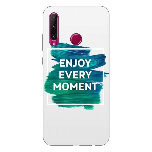 Husa Silicon Soft Upzz Print Huawei P40 Lite E Model Enjoy imagine itelmobile.ro 2021