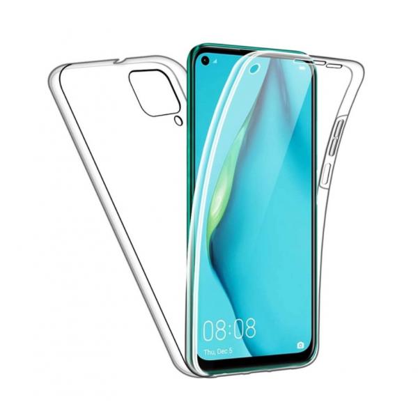 Husa 360 Grade Protectie Completa Upzz Protect Huawei P40 Lite ,silicon ,transparenta imagine itelmobile.ro 2021