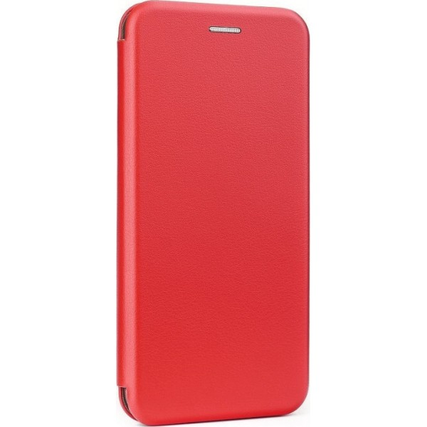Husa Flip Carte Cu Magnet Lux Upzz Huawei P40 Lite ,rosu imagine itelmobile.ro 2021