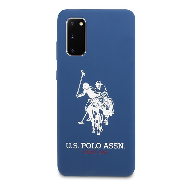 Husa Premium Originala Us Polo Assn Samsung Galaxy S20 ,albastru Navy -ushcs62slhrnv imagine itelmobile.ro 2021