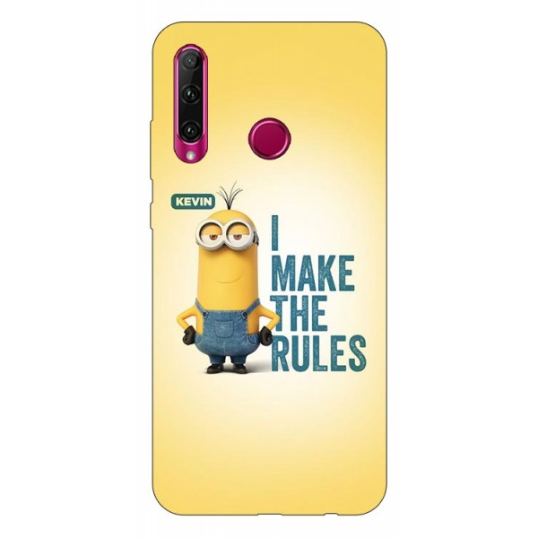 Husa Silicon Soft Upzz Print Huawei P40 Lite E Model Kevin imagine itelmobile.ro 2021
