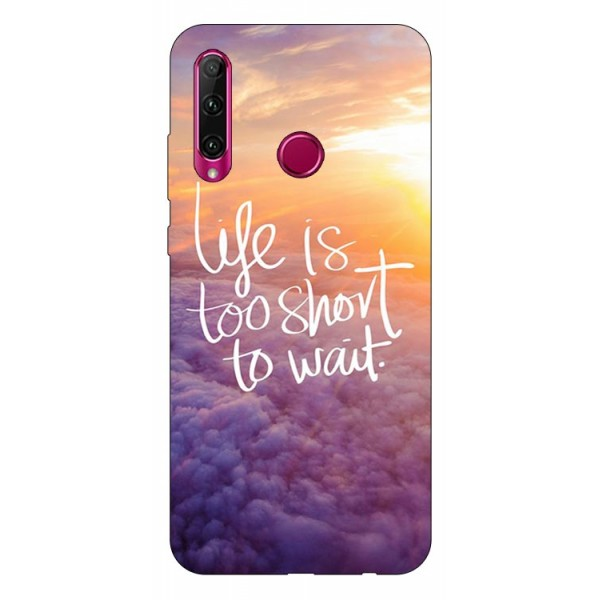 Husa Silicon Soft Upzz Print Huawei P40 Lite E Model Life imagine itelmobile.ro 2021