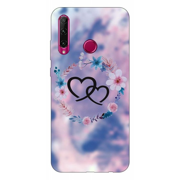 Husa Silicon Soft Upzz Print Huawei P40 Lite E Model Love imagine itelmobile.ro 2021