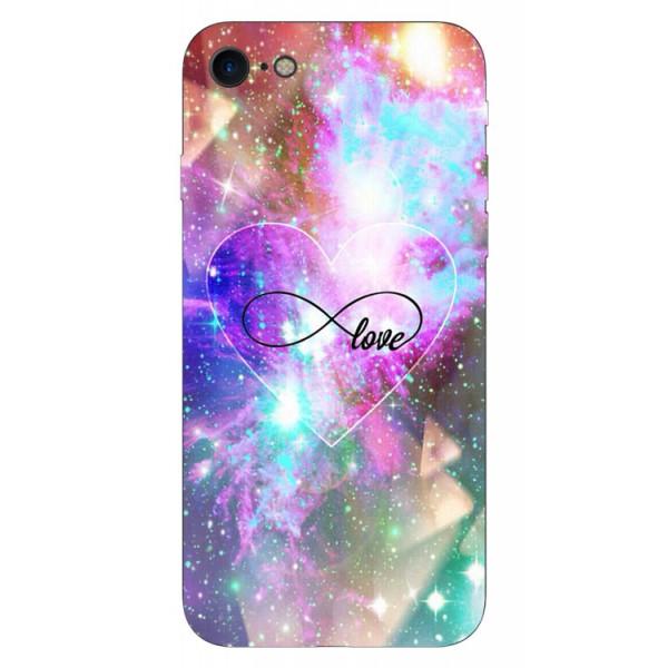 Husa Silicon Soft Upzz Print iPhone Se 2 ( 2020 ) ,model Neon Love imagine itelmobile.ro 2021