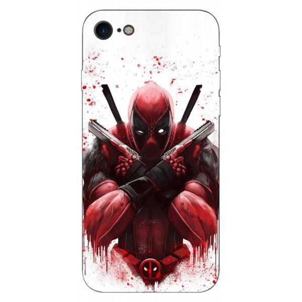 Husa Silicon Soft Upzz Print iPhone Se 2 ( 2020 ) ,model Antihero imagine itelmobile.ro 2021