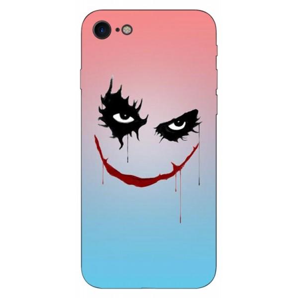 Husa Silicon Soft Upzz Print iPhone Se 2 ( 2020 ) ,model Joker imagine itelmobile.ro 2021