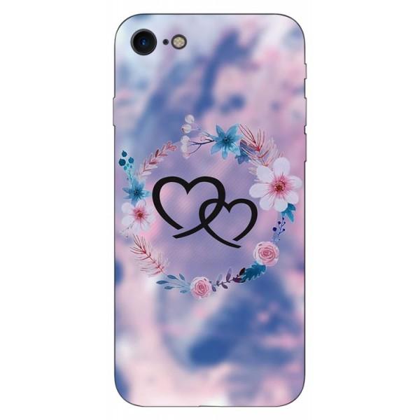 Husa Silicon Soft Upzz Print iPhone Se 2 ( 2020 ) ,model Love imagine itelmobile.ro 2021