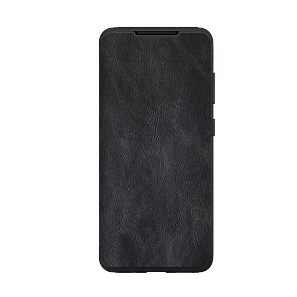 Husa Premium Flip Book Upzz Leather Samsung Galaxy Note 10 Lite ,piele Ecologica, Negru imagine itelmobile.ro 2021