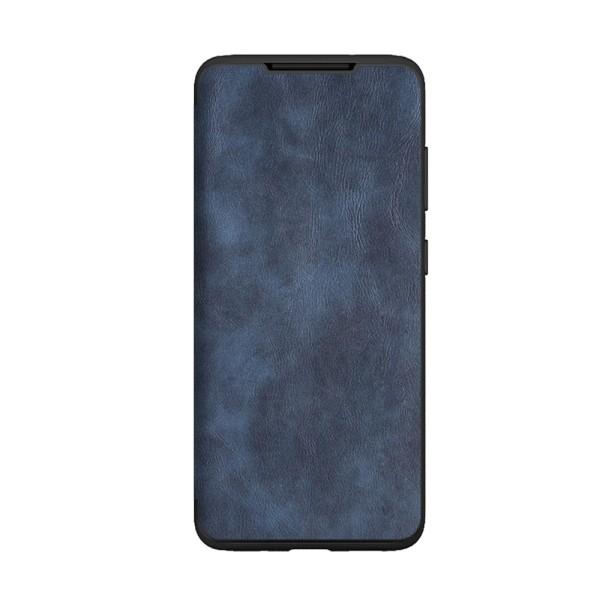 Husa Premium Flip Book Upzz Leather Samsung Galaxy Note 10 Lite ,piele Ecologica, Albastru imagine itelmobile.ro 2021