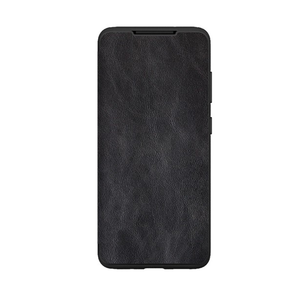 Husa Premium Flip Book Upzz Leather Samsung Galaxy S20, Piele Ecologica, Negru imagine itelmobile.ro 2021