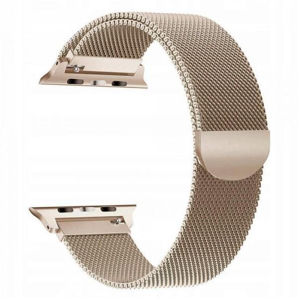 Curea Apple Watch, Tech Protect Milanese Loop, Compatibila Cu Apple Watch 1/2/3/4/5 (38/40mm) ,gold imagine itelmobile.ro 2021