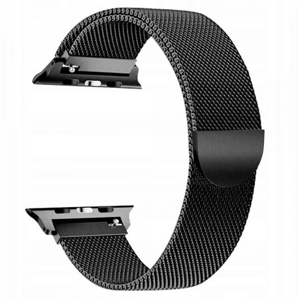Curea Apple Watch, Tech Protect Milanese Loop, Compatibila Cu Apple Watch 1/2/3/4/5 (38/40mm) ,negru imagine itelmobile.ro 2021