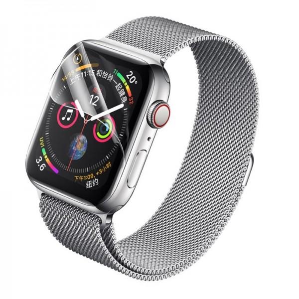 Folie Protectie Ecran Rock Hydrogel Compatibil Cu Apple Watch 4/5 (40mm), 2 Bucati imagine itelmobile.ro 2021