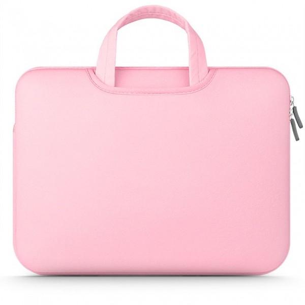 Husa Geanta Upzz Tech Protect Airbag Compatibila Cu Laptop 15 - 16 Inch ,roz imagine itelmobile.ro 2021