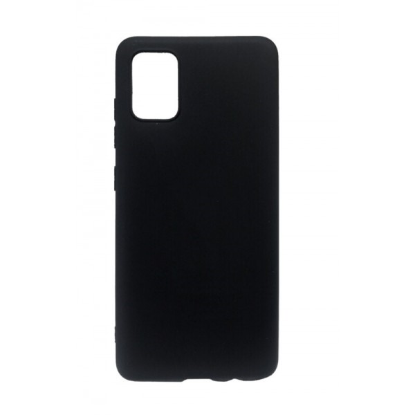 Husa Ultra Slim Upzz Candy Pentru Samsung Galaxy A51 ,1mm Grosime , Negru imagine itelmobile.ro 2021