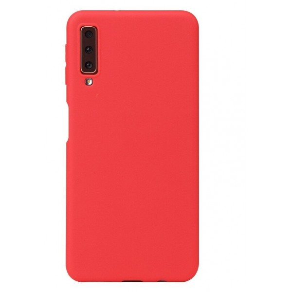 Husa Ultra Slim Upzz Candy Pentru Samsung Galaxy A70 ,1mm Grosime , Red imagine itelmobile.ro 2021