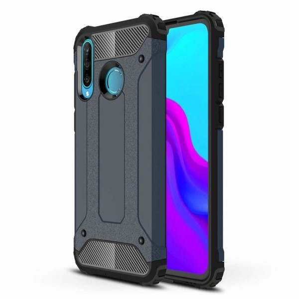 Husa Spate Upzz Armor Huawei P40 Lite E ,anti-shock ,rezistenta ,navy Blue imagine itelmobile.ro 2021
