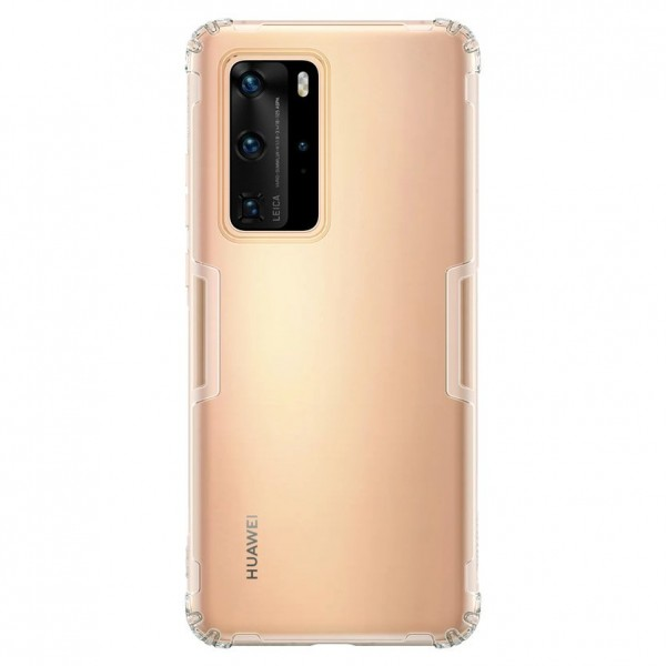 Husa Spate Ultra Slim Nillkin Nature Huawei P40 Pro ,tehnologie Air Cusion ,transparenta imagine itelmobile.ro 2021
