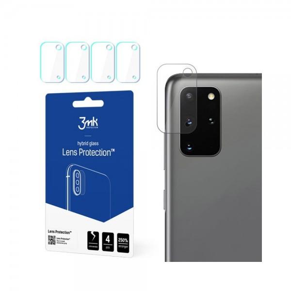 Folie Sticla Nano Glass 3mk Pentru Camera Pentru Samsung Galaxy S20+ Plus, Transparenta, 4 Buc In Pachet imagine itelmobile.ro 2021