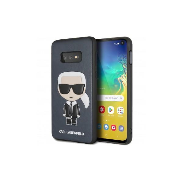 Husa Originala Premium Karl Lagerfeld Samsung Galaxy S10e , Navy, Karl Iconic Full Body -klhcs10likpubl imagine itelmobile.ro 2021