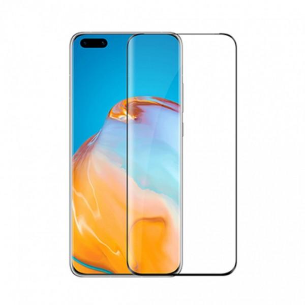 Folie Full Glue Upzz Glass Pentru Huawei P40 Pro ,transparenta Cu Margini Negre Full Cover ,case Friendly imagine itelmobile.ro 2021