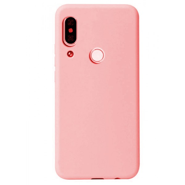Husa Premium Upzz Soft Silicone Samsung Galaxy A20e Cu Interior Alcantara ,hot Pink imagine itelmobile.ro 2021