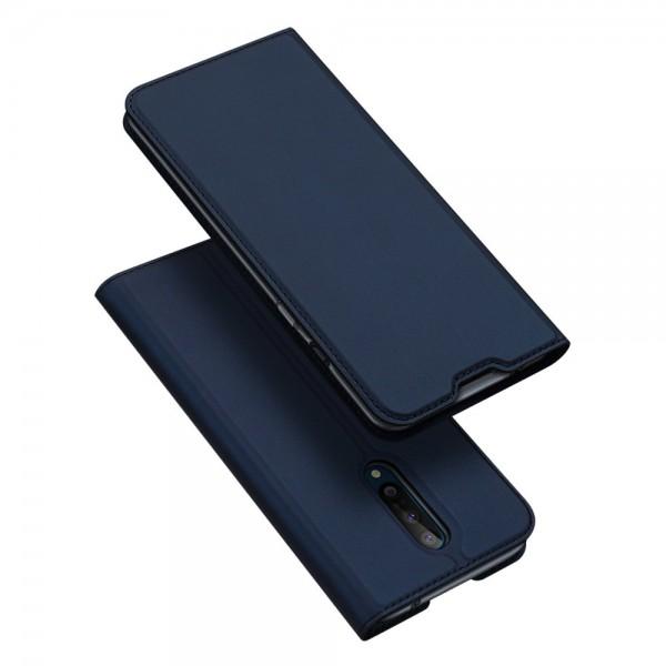 Husa Flip Cover Premium Duxducis Skinpro Oneplus 8 ,navy Albastru imagine itelmobile.ro 2021