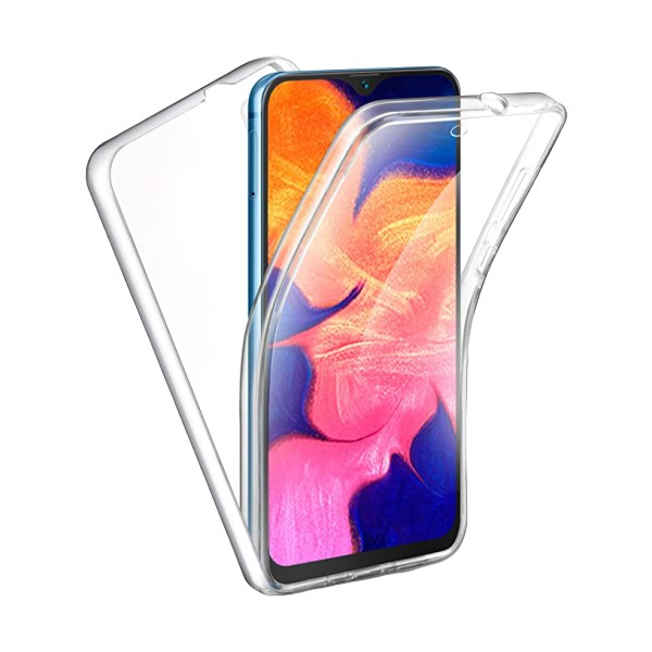 Husa 360 Grade Full Cover Upzz Case Silicon Samsung Galaxy A41 Transparenta imagine itelmobile.ro 2021