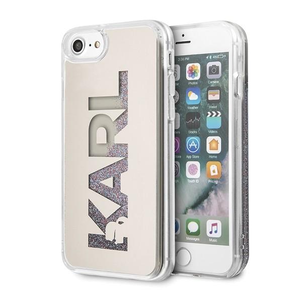 Husa Originala Premium Karl Lagerfeld iPhone Se 2 ( 2020 ) ,colectia Mirror Karl-klhci8klmlgr imagine itelmobile.ro 2021