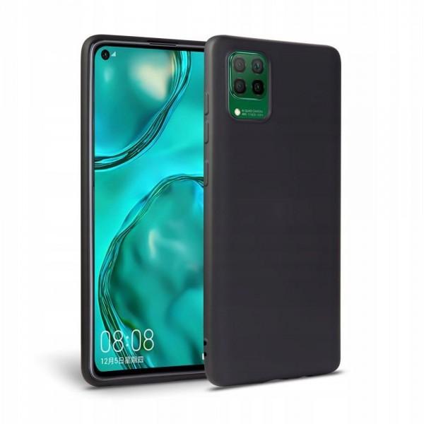 Husa Ultra Slim Upzz Candy Pentru Huawei P40 Lite ,1mm Grosime ,negru imagine itelmobile.ro 2021