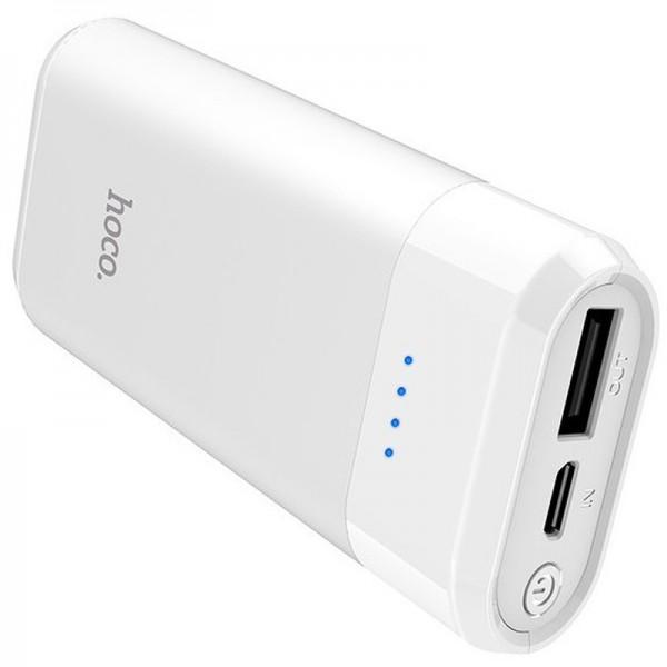 Baterie Externa Hoco Enturage 5200mah ,1x Usb ,alb - B35 -alb imagine itelmobile.ro 2021