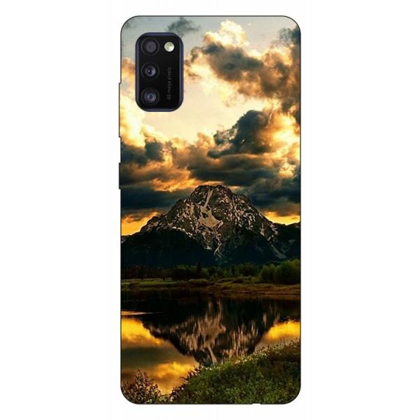 Husa Silicon Soft Upzz Print Samsung Galaxy Galaxy A41 Model Apus imagine itelmobile.ro 2021