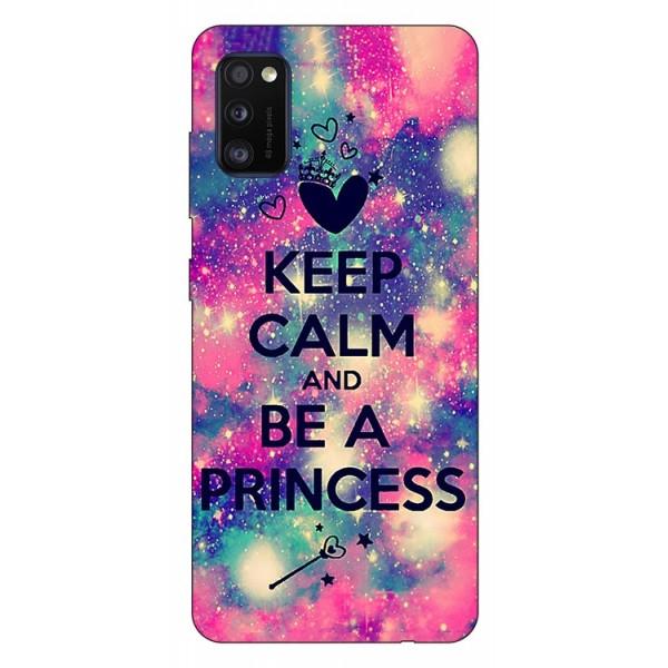 Husa Silicon Soft Upzz Print Samsung Galaxy Galaxy A41 Model Be Princess imagine itelmobile.ro 2021