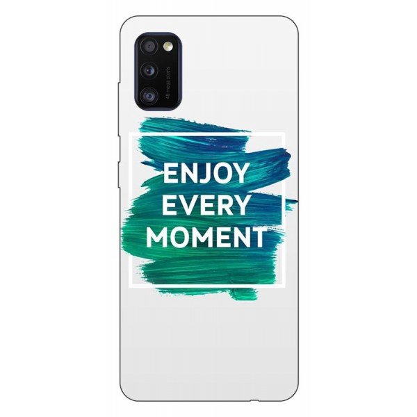 Husa Silicon Soft Upzz Print Samsung Galaxy Galaxy A41 Model Enjoy imagine itelmobile.ro 2021