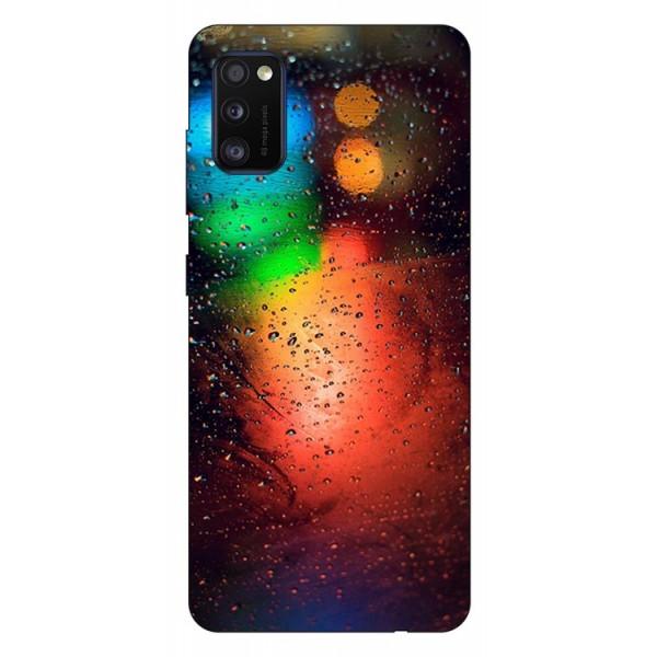 Husa Silicon Soft Upzz Print Samsung Galaxy Galaxy A41 Model Multicolor imagine itelmobile.ro 2021